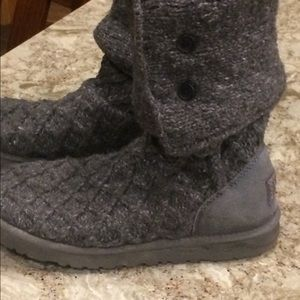 Grey, Cardy Ugg Boots